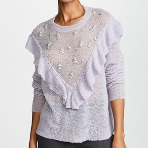 Wildfox Embellished Baume Sweater